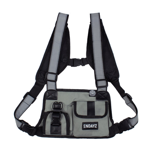 Endayz utility chest bag grey