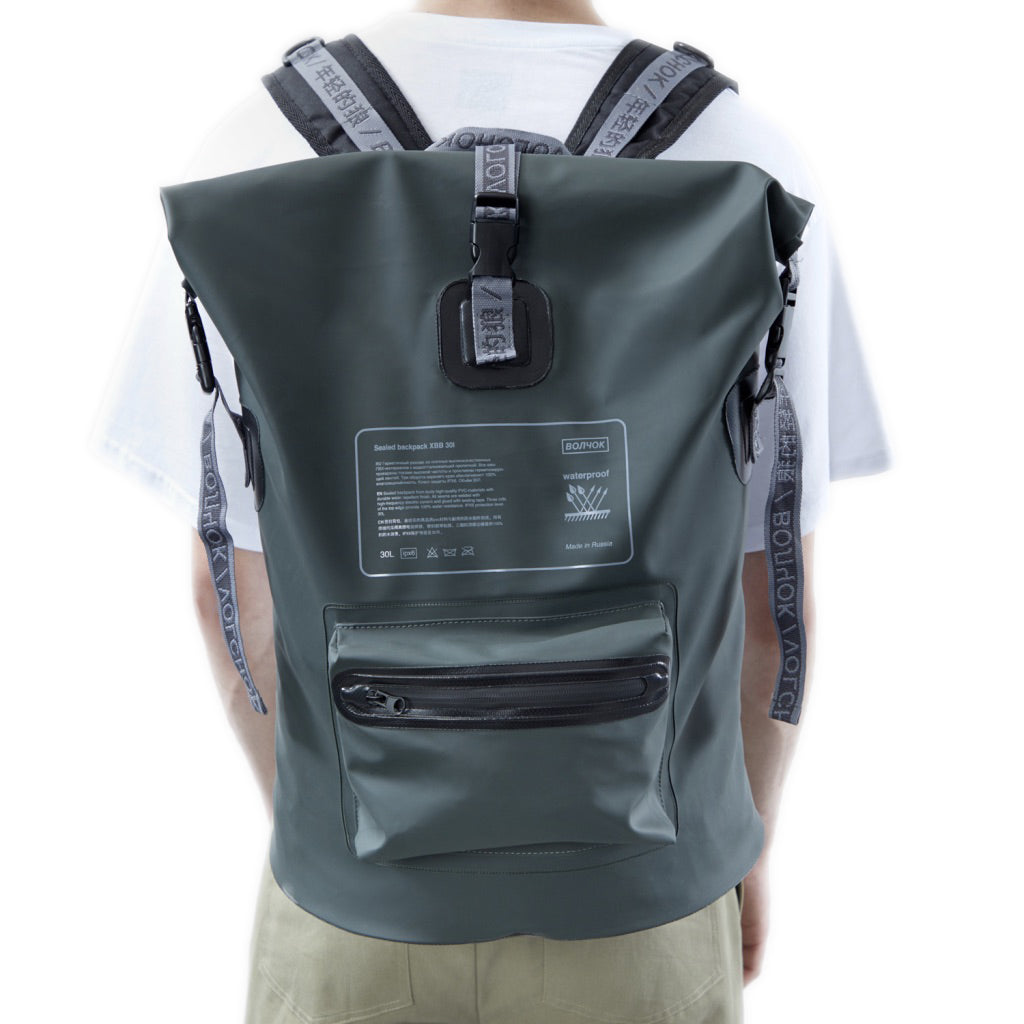 Waterproof Backpack Green