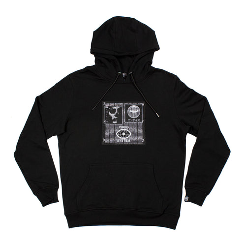 Endayz Video System Hoodie - Black