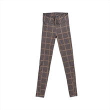 GOODBOIS CLASSIC TRADEMARK ALL OVER LEGGINGS BROWN