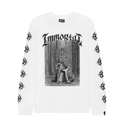 Volchok immortal Long T-shirt White