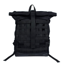 Endayz Roll-top Backpack Functional nett Black