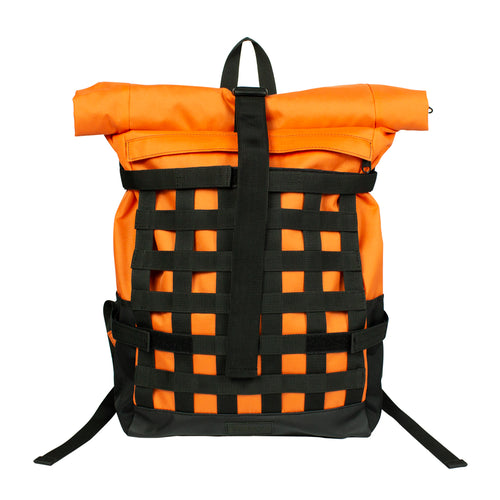 Endayz Roll-top Backpack Functional nett Orange