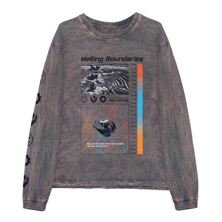 VOLCHOK X MELT Longsleeve MELTING BOUNDARIES
