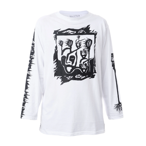 Ruh.institute X Misha Shizm Long sleeve white