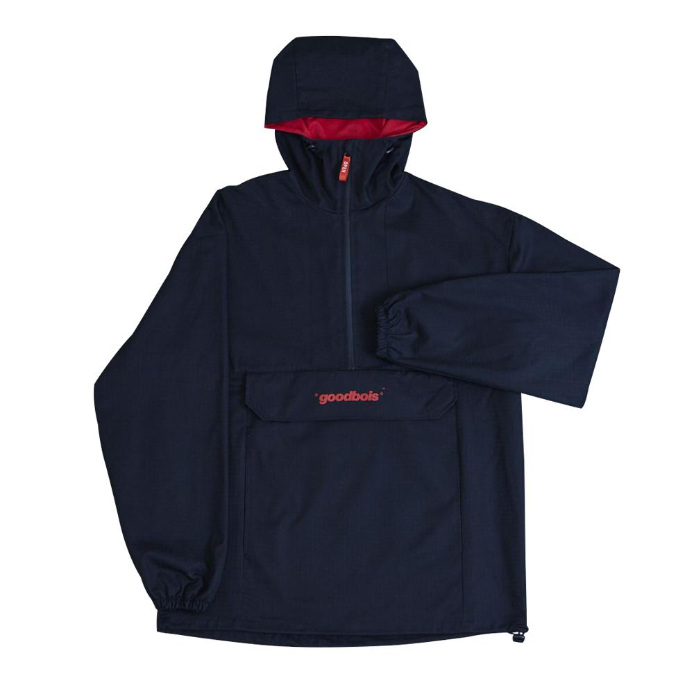 GOODBOIS Raw Stop Anorak Black