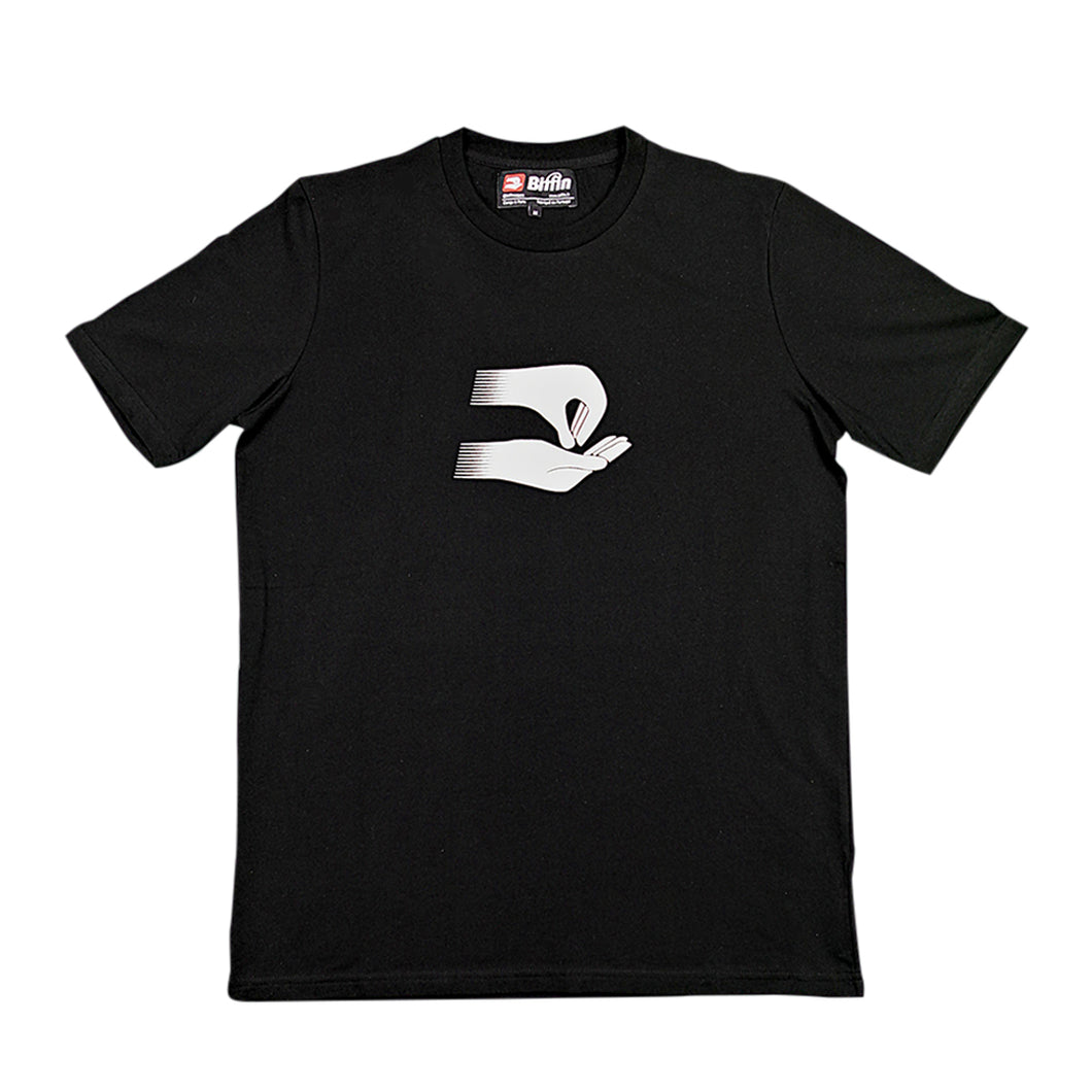 Biffin black reflective t-shirt