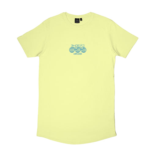 Endayz Club logo - soft yellow | Long T-shirt