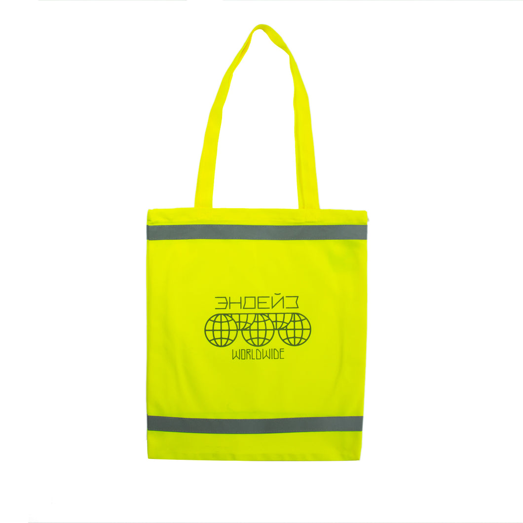 Endayz Tote Bag Yellow Neon