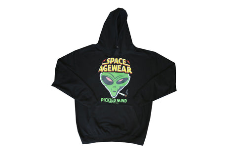 Larry's 420 Pickled Mind Hoodies