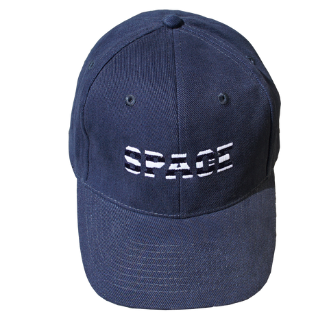 Navy Striped Space Cap