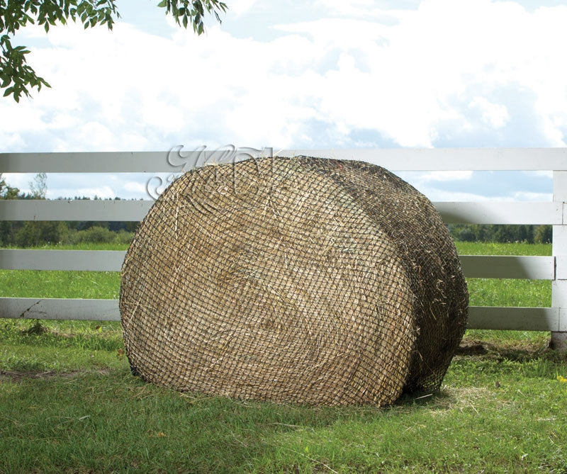"USED Hay Chix® Large Bale 6' Net - 1 3/4"" Heavy Duty"