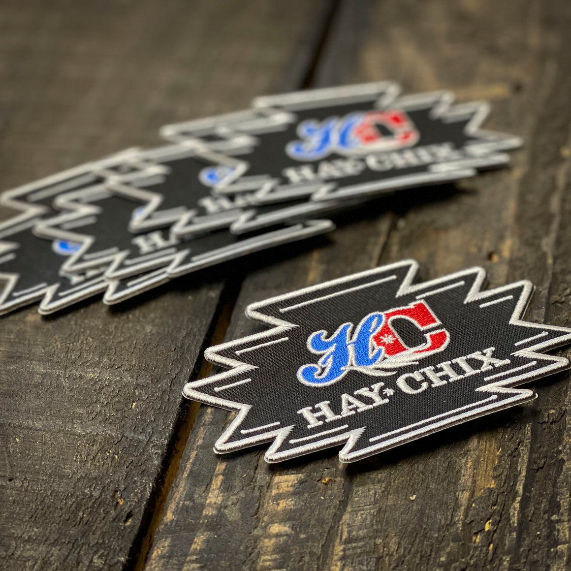 Hay Chix® Red, White & Blue Patch Pack