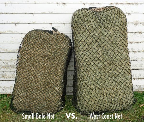 "USED Hay Chix® Small Bale 1 3/4"" Net"