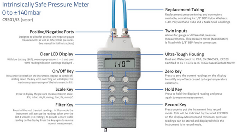 HHSolutions_Comark_C9501_IS_Pressure_Meter