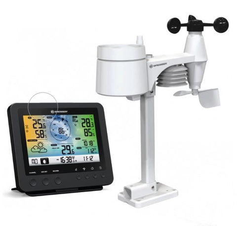 Bresser Complete Colour Wifi Weather Station with Alerts. 5YR Warranty
