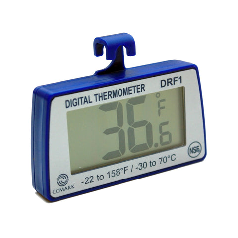DRF1 Digital Refrigerator Freezer Thermometer