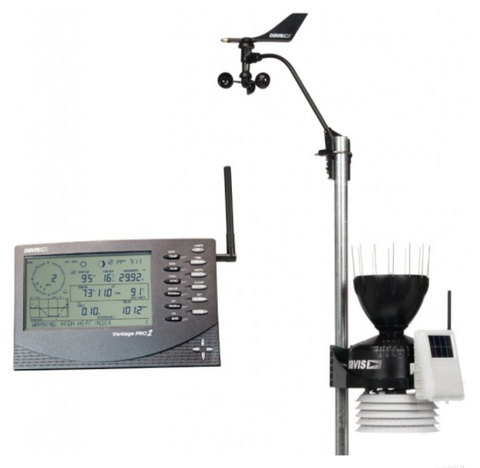 DAVIS VANTAGE PRO2 WIRELESS WEATHER STATION 6152UK /IE