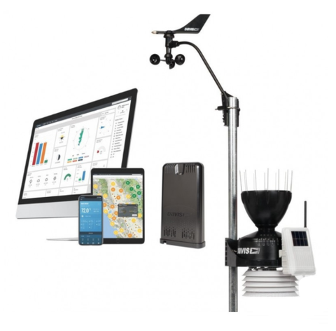 DAVIS VANTAGE PRO2 WIRELESS Sensor Suite & WEATHERLINK LIVE BUNDLE