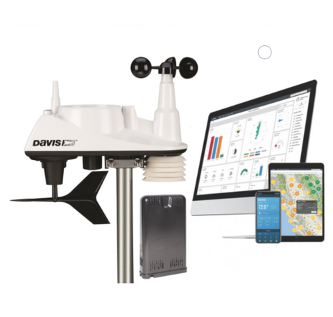 Davis Vantage Vue Sensors with WeatherLink Live Bundle