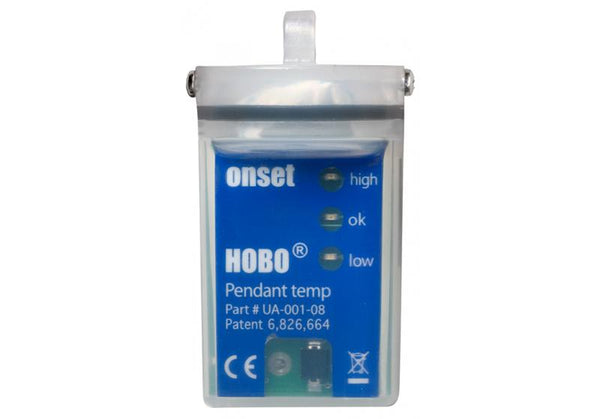 HOBO 8K Pendant® Temperature/Alarm (Waterproof) Data Logger