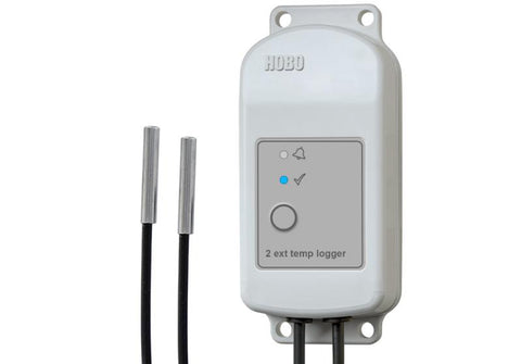 HOBO MX2303 Two External Temperature Sensors Data Logger