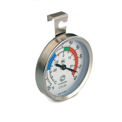 UTL80 Stick-On Thermometer Fridge or Freezer -30°C to +25°C