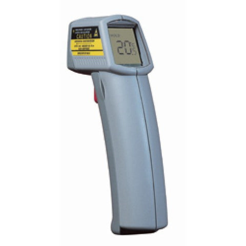 Infrared Thermometer with Laser Sighting, -18°C to +260°C