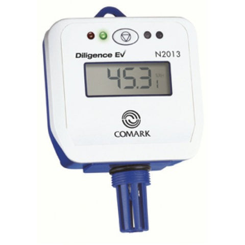 N2013 Temperature and Humidity Logger with LCD Display