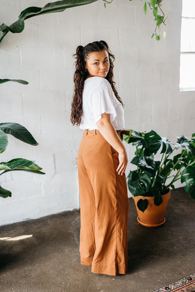 Coca Cotton Pants