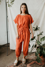 Sienna Cotton Jumpsuit