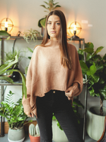 The Lucky One Sweater (Nude)
