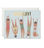 Swimmers Hooray Card