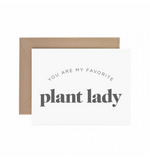 Favorite Plant Lady Card