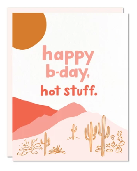 Hot Stuff Card