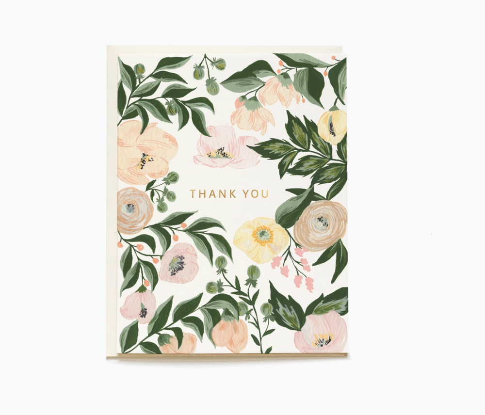 Juliette Thank You Card