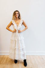 Honest White Maxi Dress