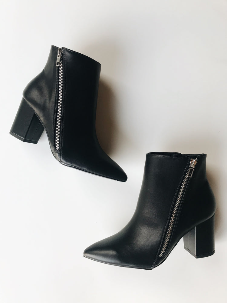 Black Glam Booties