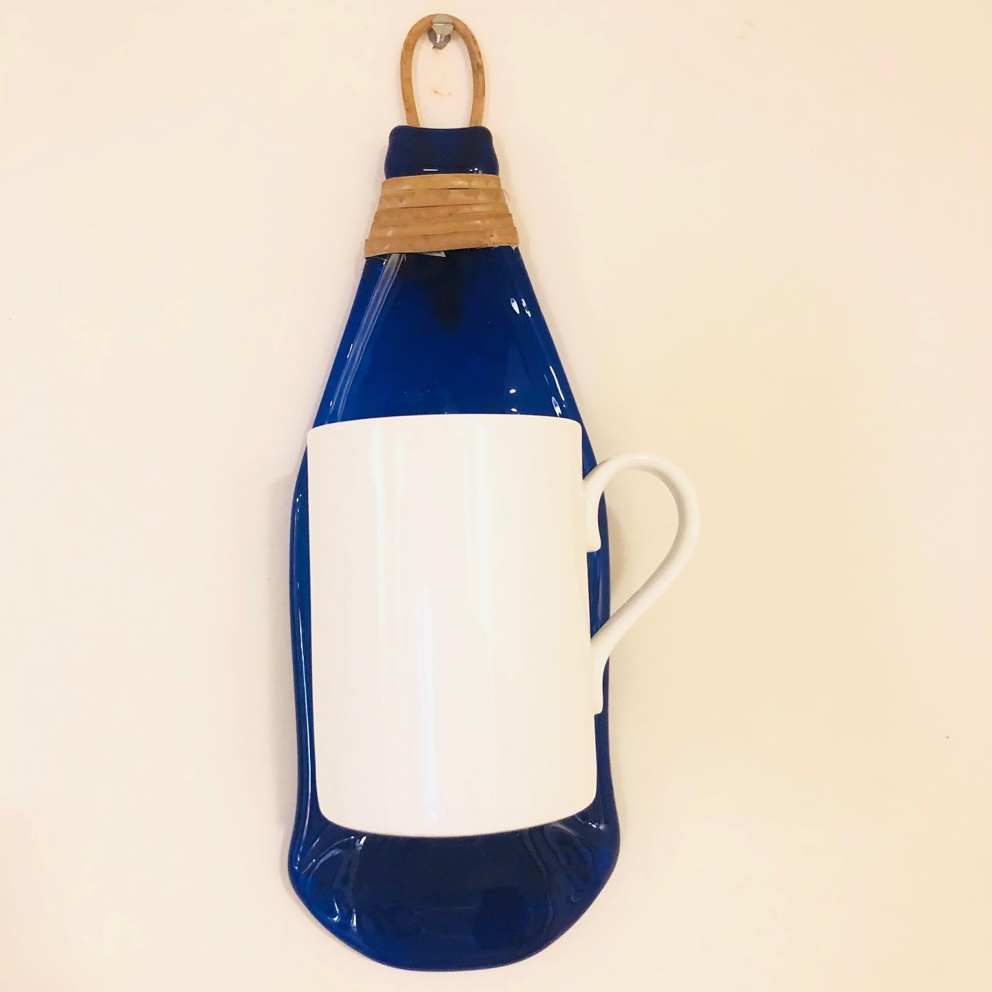 Upcycled bottle Mug