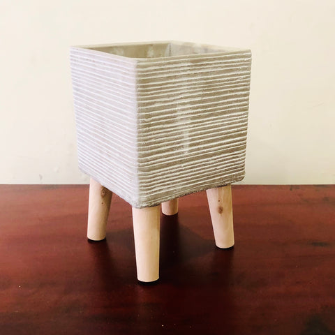 Square Cement Pot