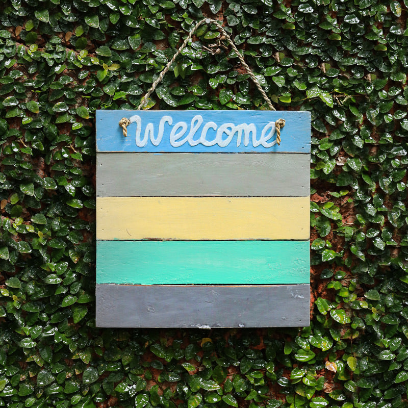 Wall Hanging Welcome Board
