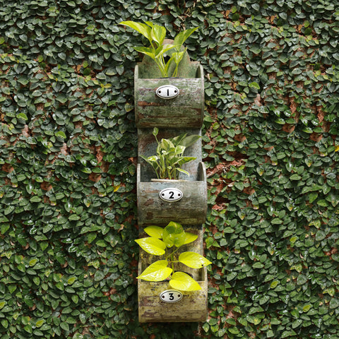 Wall Hanging Wooden Planter