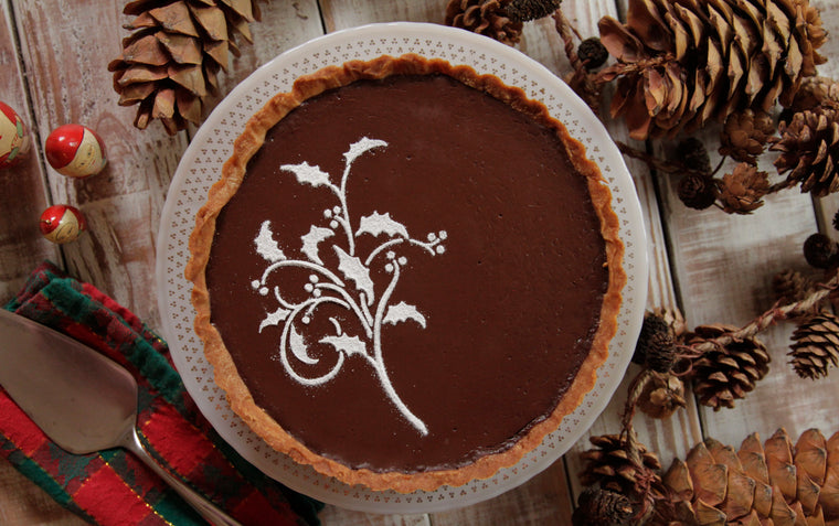 Dark Chocolate Peppermint Tart