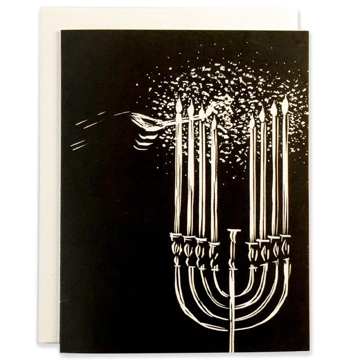 Menorah Holiday Card
