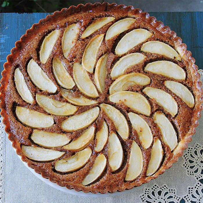 Apple Frangipane Tart with 