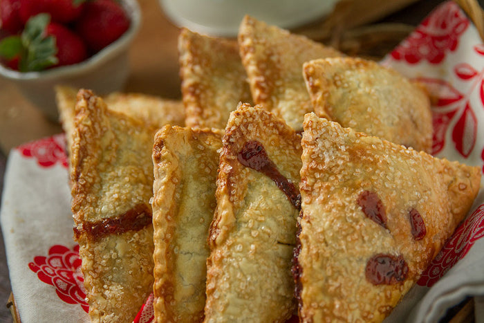 Strawberry and Chocolate Hand Pie