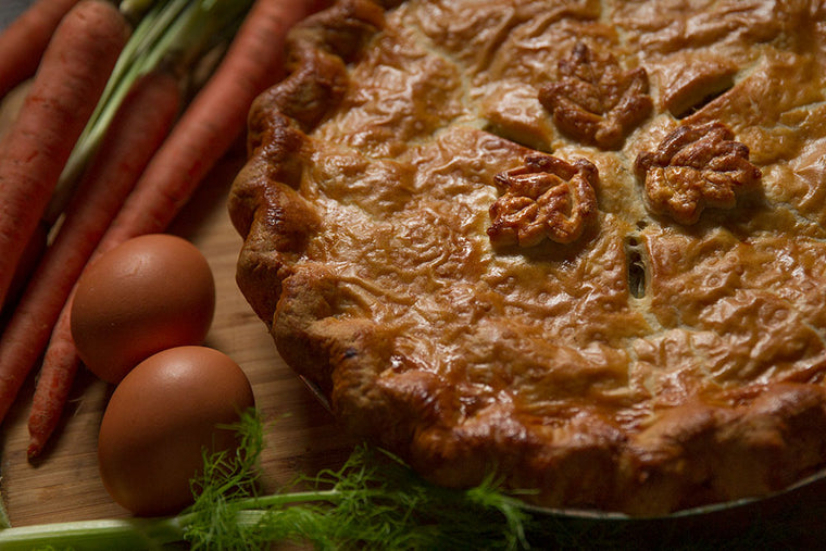 Winter Root Vegetable Pie