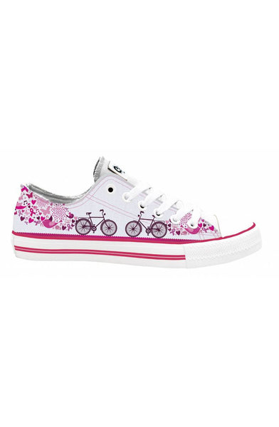 1a3297394aad5 Bicycle Life Style breast cancer awareness sneakers ...