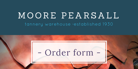 tannery warehouse ORDER FORM 2017