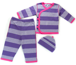 3-Piece Striped Set